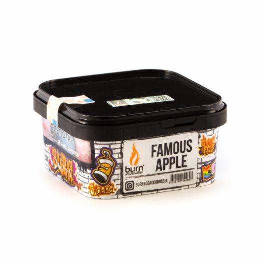 Burn - Famous Apple (сочное зеленое яблоко с холодком)