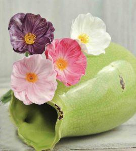 Цветок мака латексный (32 см, 6 цветов)