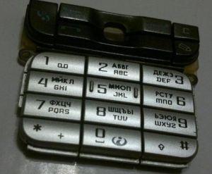 Клавиатура Nokia 3230 (black) Оригинал