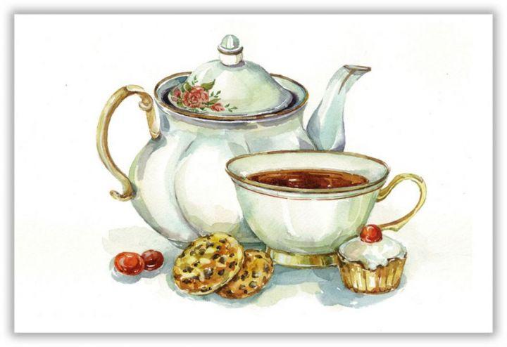 Чашка и чайник
