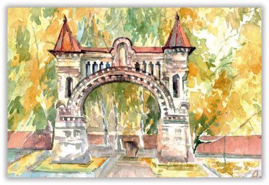 Старинные ворота