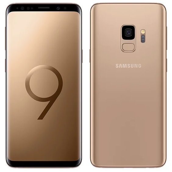 Samsung Galaxy S9 64GB G960F/DS Gold (SM-G960FZDDSER)