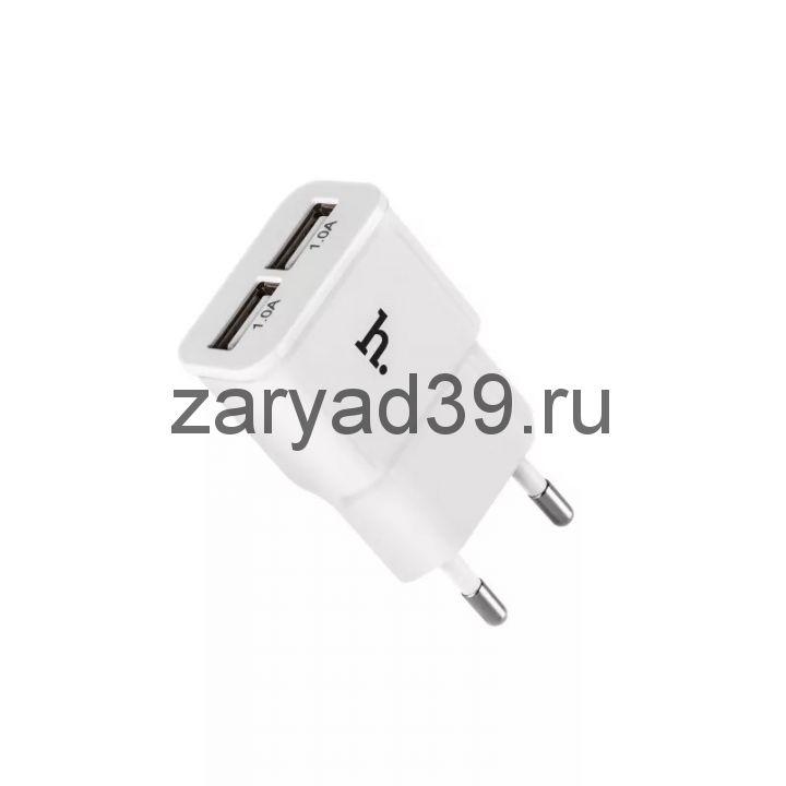 Сетевой адаптер Hoco UH202 Smart 2USB