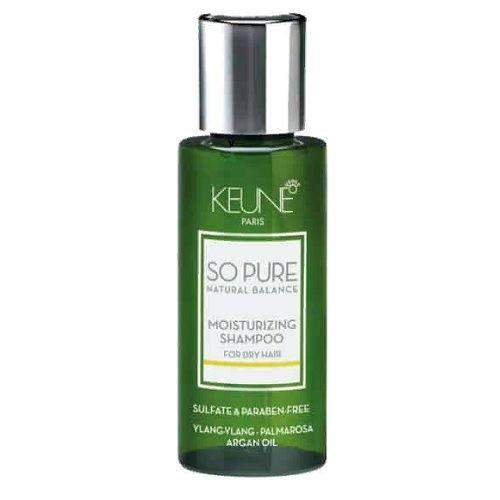 Keune So Pure Шампунь Увлажняющий Moisturizing Shampoo, 50 мл.