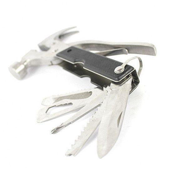 Многофункциональный молоток-гвоздодер Bellhowell Tac Tool 18 in 1