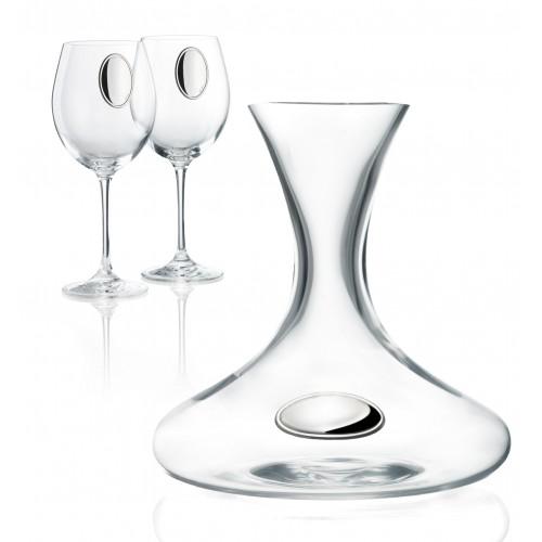 Графин и 2 винных бокала (Италия)
