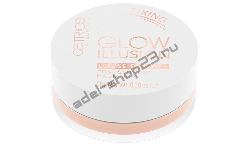 Catrice - Рассыпчатая пудра Glow Illusion Loose Powder
