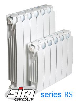 Биметаллический радиатор SIRA RS 800 /4cекции
