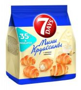 Kruassan 7 Days mini vanil 200gr