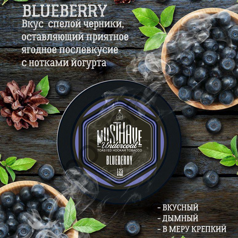 Must Have 25 гр - Blueberry (Черника)