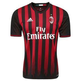 Игровая футболка клуба adidas Associazione Calcio Milan Home Jersey красная