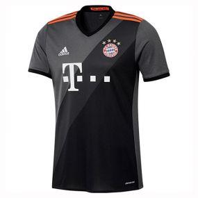 Игровая футболка клуба adidas Fussball Club Bayern Away Jersey чёрная