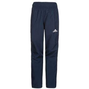 Детские футбольные штаны adidas Tiro 17 Woven Pants тёмно-синие