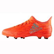 Детские бутсы adidas X 16.3 FG оранжевые