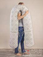 U-Спальная система 330см. для беременных и кормящих «Доброе расположение», бежевый орнамент, Амама