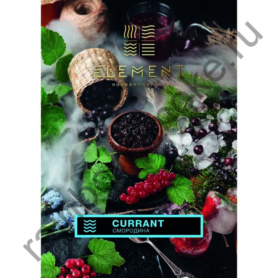 Element Вода 40 гр - Смородина (Currant)