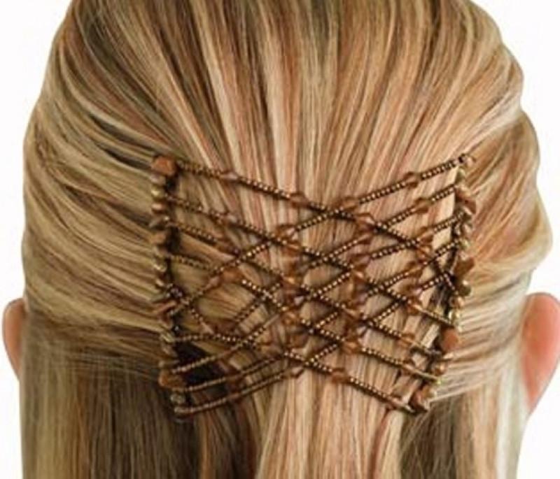 Заколки для волос EZ Combs (Изи Коум), цвет Коричневый