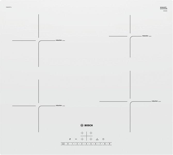 Электрическая варочная панель Bosch PUE612FF1J