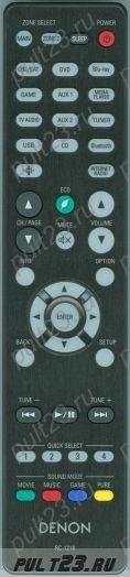 DENON RC-1218, AVR-S930H, AVR-X2400H, AVR-X3400H