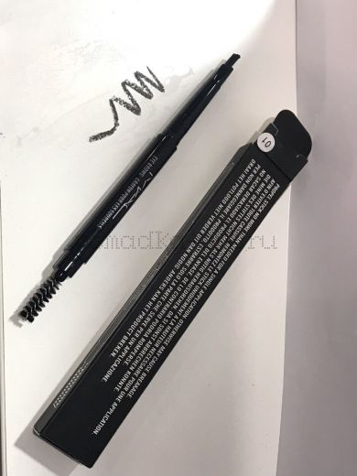 МС карандаш для бровей 01
