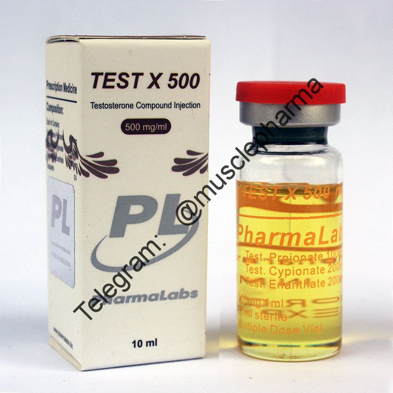 TEST X500 (СУСТАНОН 500 мг).  PHARMALABS. 1 флакон * 10 мл. !!! 100% ОРИГИНАЛ !!!