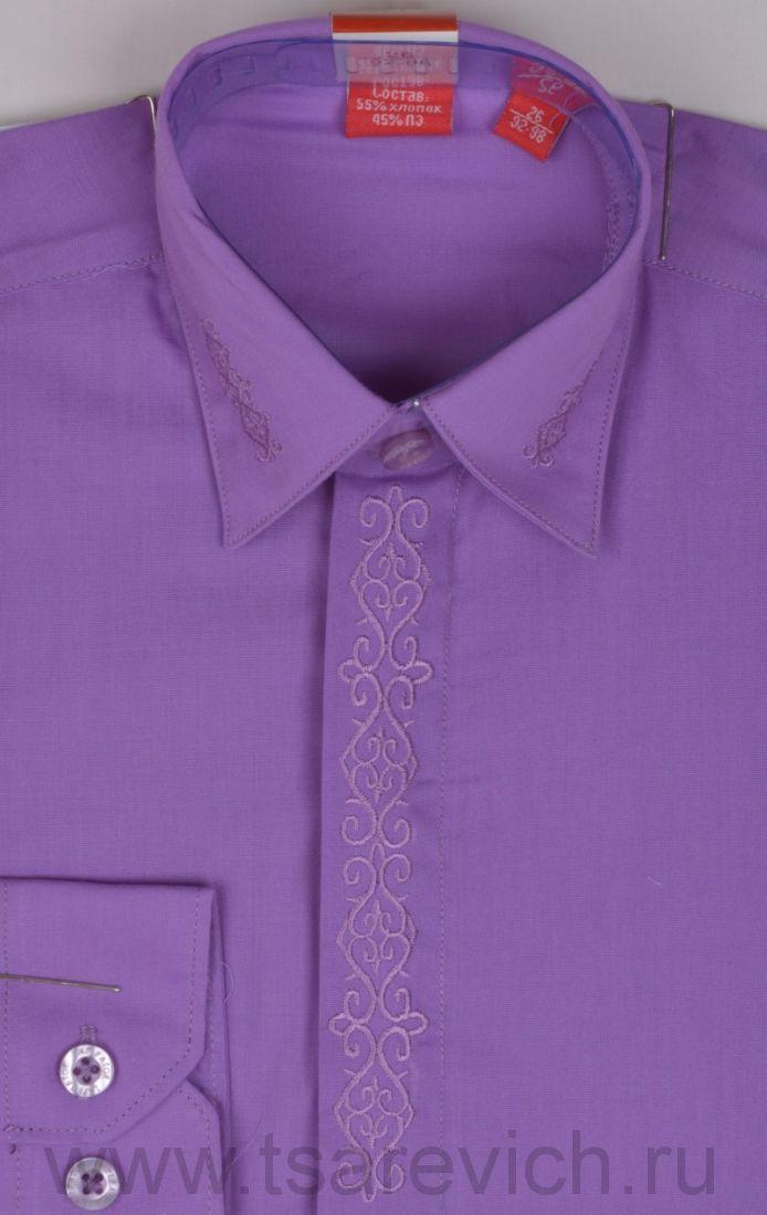Детская рубашка дошкольная,   оптом 10 шт., артикул: Crocus-19 lt