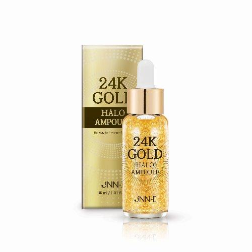 Сыворотка для лица с 24К золотом JNN-II 24K GOLD HALO AMPOULE