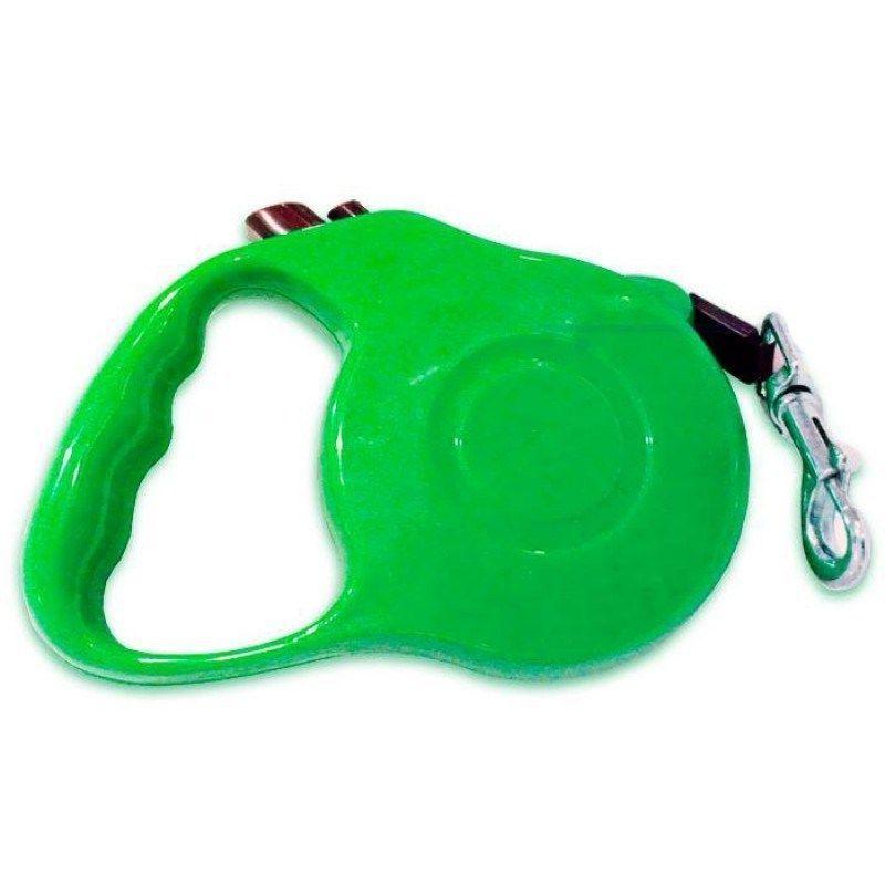 Рулетка - поводок для собак с кнопочным блокиратором длины RETRACTABLE DOG LEASH, 3 м
