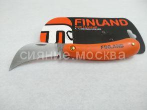 Нож садовый Finland  c изогнутым лезвием из нержавеющей стали 1452