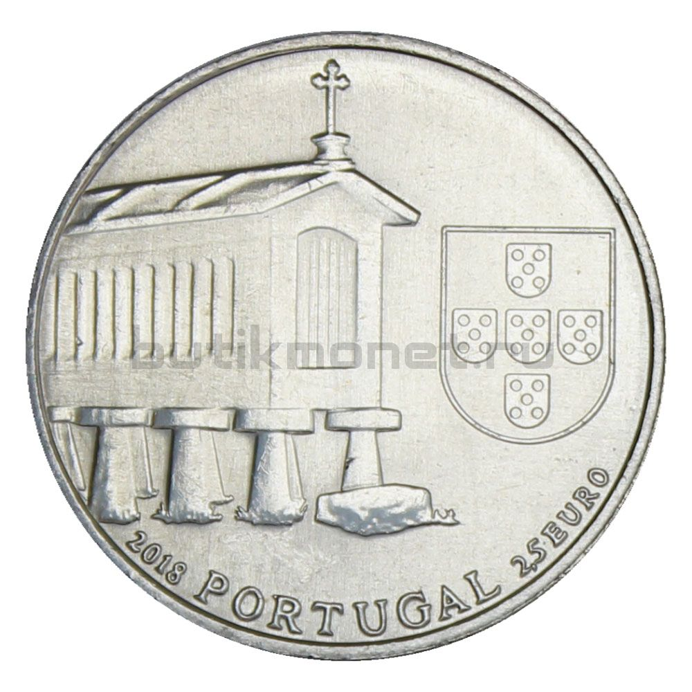 2 1/2 евро 2018 Португалия Оррео из Северной Португалии (Португальская этнография)