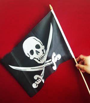 Флаг пирата (20*30 см)