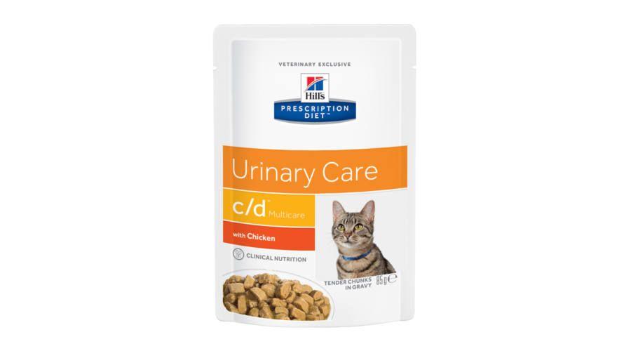 Hill's Prescription Diet Feline c/d Multicare with Chicken 85 гр.