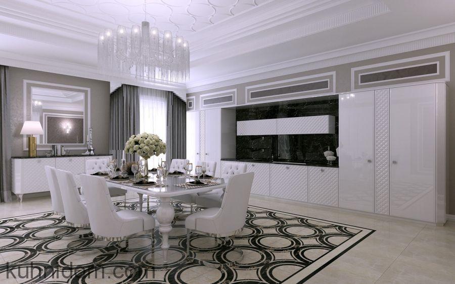 Кухня FORTEZZA Белая
