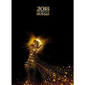 Блокнот Бизнес 80 л. А4 ЧМ по футболу Золотой Кубок (арт. 80ББ4лофВ1_17094)