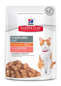 Hill's Science Plan Feline Sterilised with Salmon 12/85g