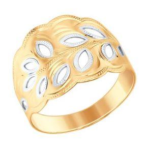 Кольцо SOKOLOV 017346 золото 585