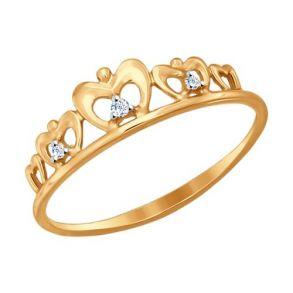 Кольцо SOKOLOV 017148 золото 585