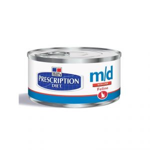 Hill's Prescription Diet Feline (cans) m/d with Liver 156 гр.