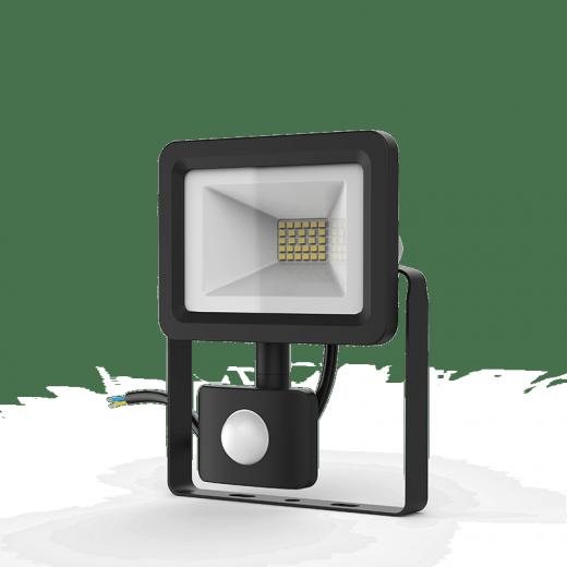 Прожектор светодиодный Gauss LED 20W IP65 6500К с датчиком движения