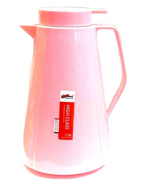 Термос КУВШИН 1,0 л DayDays LF4310 розовый