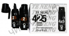 Маркер перманентный черный MK-425 7мм (12шт)