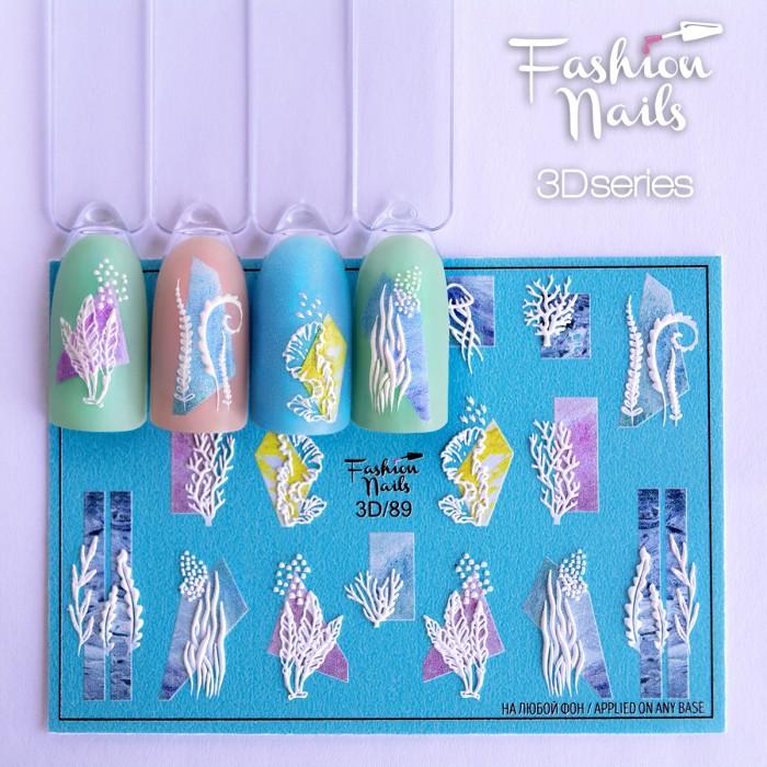 3D слайдер дизайн Fashion Nails #89