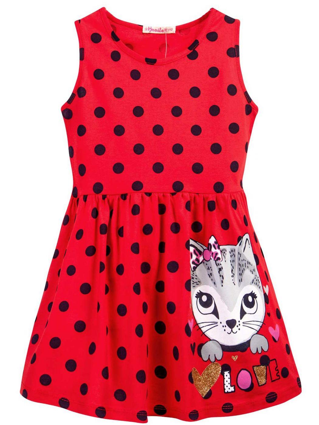 Платье для девочки 3-7 лет Bonito BJ1172P2