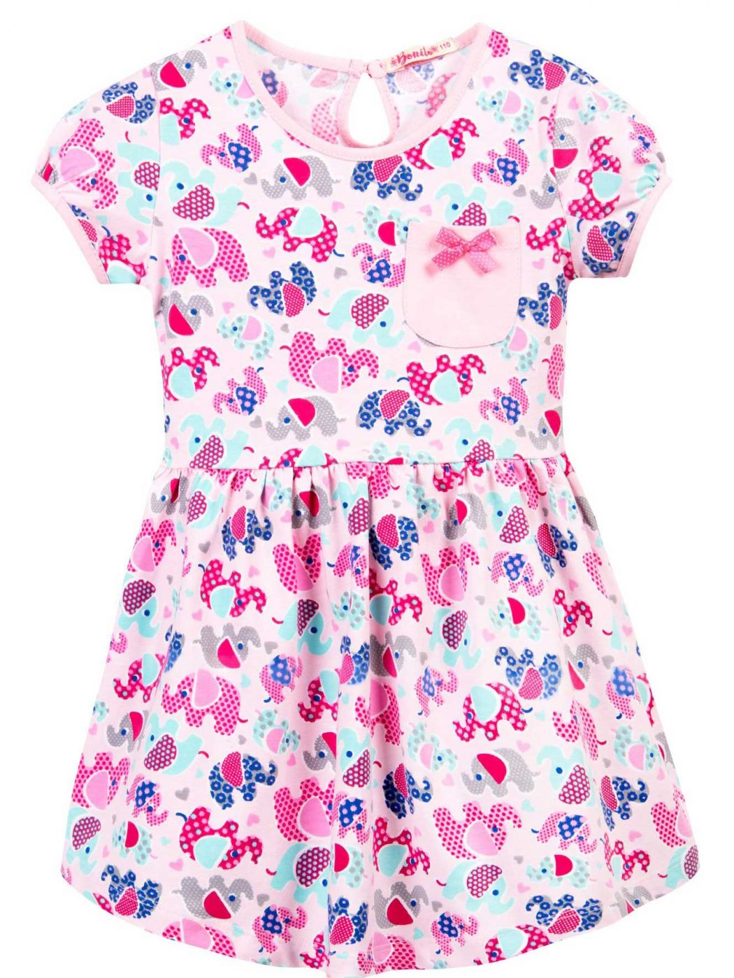 Платье для девочки 3-7 лет Bonito BJ1174P5