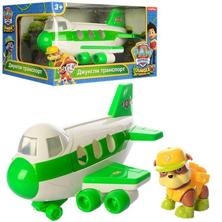 Самолет спасателей с героем Щенячий патруль