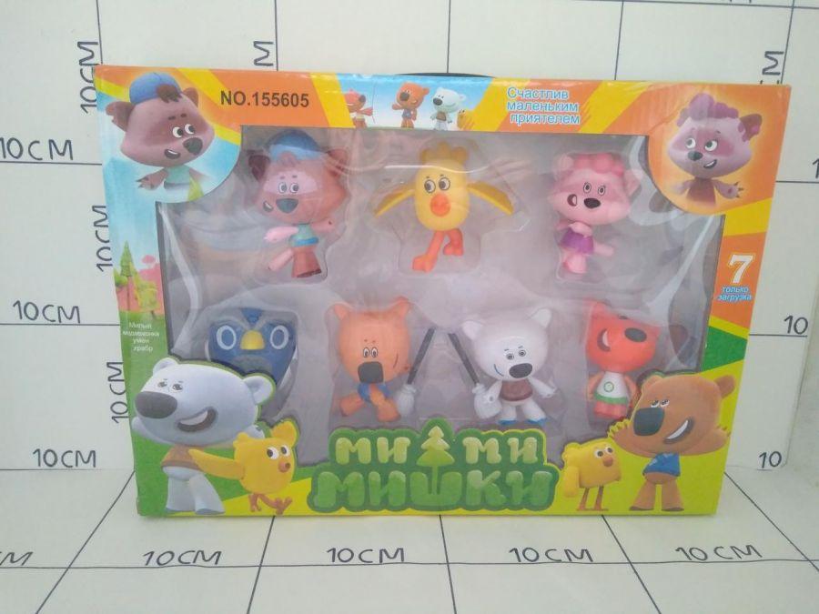 Ми-Ми-Мишки, набор из 7 героев.