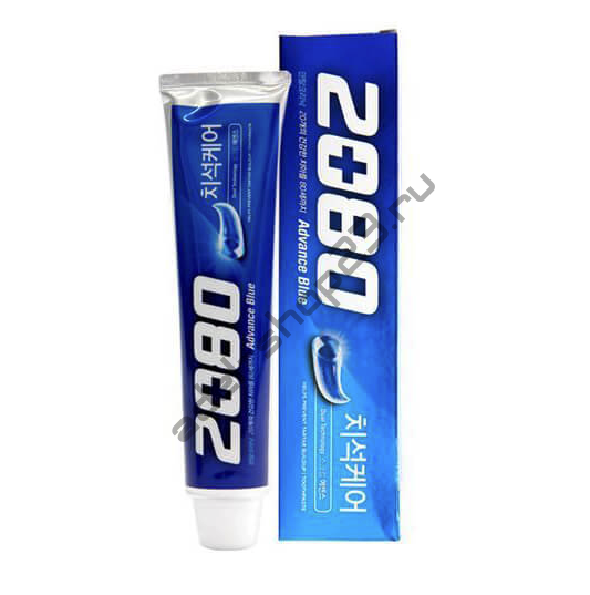 "AEKYUNG - Зубная паста отбеливающая ""2080 Advance Blue"""