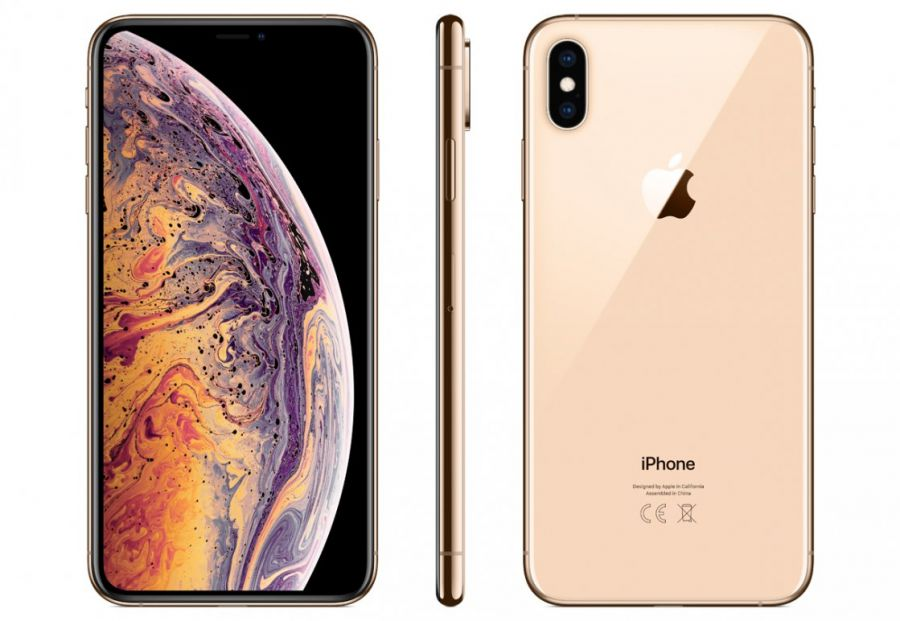 Смартфон Apple iPhone Xs 64GB Gold (MT9G2RU/A)