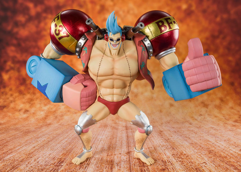 Аниме фигурка Figuarts ZERO One Piece - Iron Man Franky Фрэнки