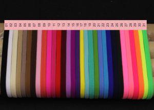 """Резинка-повязка """"one size"""", диаметр 10,5см, окружность 33см, цвет № 13 бордовый (1уп = 12шт)"""